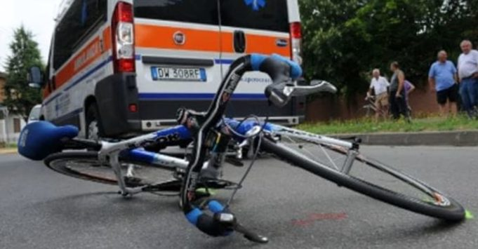 Incidente in bicicletta (foto - repertorio)